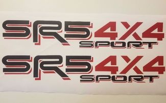 SR5 sport 4x4, toyota tacoma tundra truck decal Sticker (set)