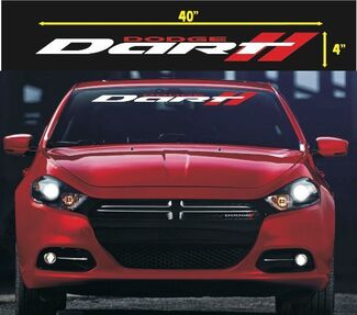 DODGE DART WINDSHIELD VINYL DECAL STICKER 1