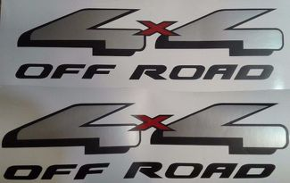 4x4 decal sticker silverado truck chevrolet (SET)