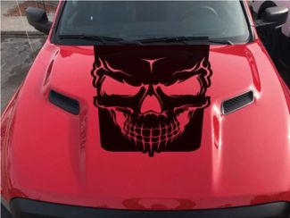 2015-2017 Dodge Ram Rebel Schädelhaube LKW Vinyl Aufkleber Grafikoptionen Farbe