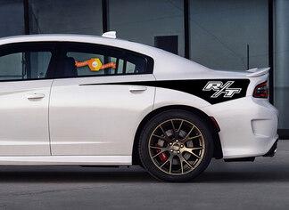 Dodge Charger R / T Seitenstreifen hinten 2015 2015 2017 2017 Hemi SRT RT SCAT-Paar
