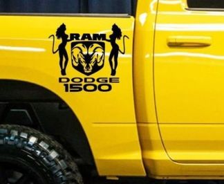 Dodge Ram 1500 RT HEMI Truck Bed Box graphic decal sticker kit custom mopar