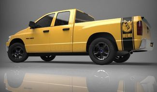 1500 2500 Truck Bed Side Stripe Rumble Bee Ram Dodge Vinyl Decal Sticker 018B