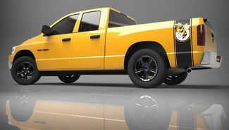 1500 2500 Truck Bed Side Stripe Rumble Bee Ram Dodge Vinyl Decal Sticker PDS018A