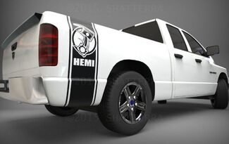 1500 2500 Truck Bed side stripes Hemi PISTON decals Sticker Bed Band