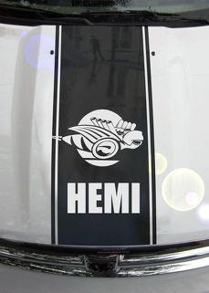 Ram Truck 1500 2500 3500 Bee Hood Streifen Vinyl Aufkleber Aufkleber Grafik DH-006B