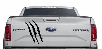 Ford F150 Raptor SVT bed tailgate claw Scratch graphics decal sticker