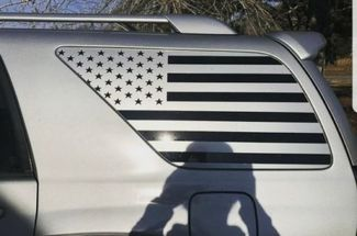 4th Gen American Flag Decals Toyota 4Runner Stickers Vinyl Accessories USA Yota