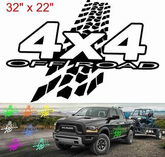BEST 4x4 decal MUD Off Road style