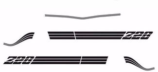 1980 1981 Chevrolet Camaro Z28 Decals & Stripes Kit