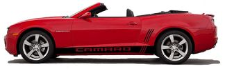 Camaro Rocker Graphics Side Stripes Decal Kit 2010 2015 LS SS LT
