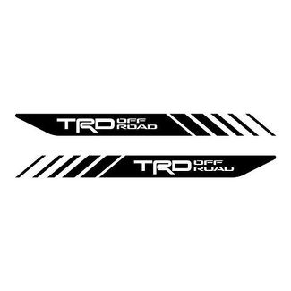 Tacoma Off Road Toyota TRD Truck 4x4 Decals Vinyl PreCut Stickers Bedside Set X2
