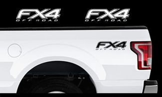 2010-2014 Ford F-150 Fx4 Off Road Truck Bed Decal Set Vinyl Stickers