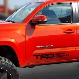 Toyota Tundra Tacoma Car Truck TRD off road Side Decal Sticker Pre-Cut Vinyl T7