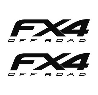 Ford F150 F250 FX4 Off Road Decals Vinyl Truck Sticker Decal 2012 2013  - 2020
