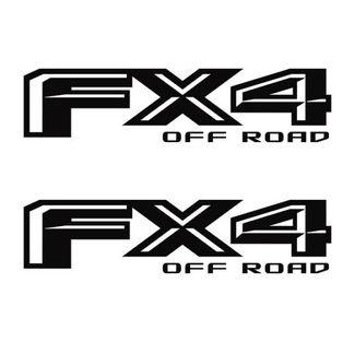FX4 Off Road Ford F-150 F150 2015-16 2017 2p Decals Stickers Vinyl Truck Sticker