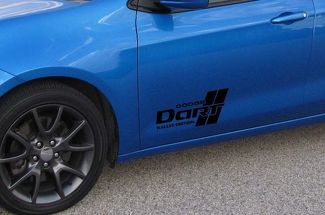 2013-2017 Dodge Dart Rallye door logo decal sticker set