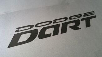 2013-2017 Dodge Dart Tür Logo Aufkleber Aufkleber Set