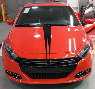 2013-2017 Dodge Dart split Hood stripe decal sticker