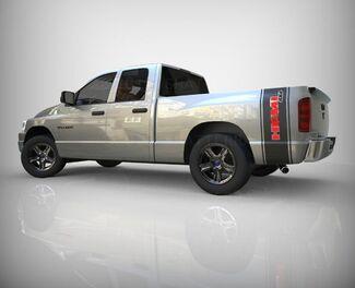 Dodge Ram 1500 Hemi 4x4 Aufkleber Bett Box Seite Grafikstreifen Aufkleber