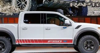 Rocker Stripes passen für den FORD F-150 XL XLT Platin King Ranch Mannschaftskabine SVT Raptor