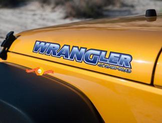 Jeep Hood Aufkleber Aufkleber - Wrangler- PIRATE 4x4 Off Road - PICK COLOR - 2-teiliges Set