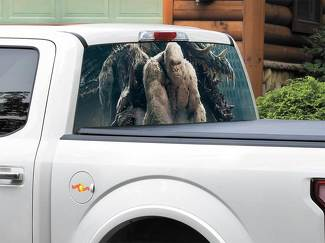 Rampage George Movie 2018 Rear Window Decal Sticker Pick-up Truck SUV Car any size