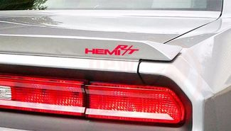 3X HEMI RT, DODGE CAR DECAL, CHALLENGER, CHARGER, DIE CIT STICKER