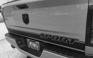 Ram 1500 Sport Tailgate Stripe Decal Hemi Dodge Truck 5.7 2012-2018