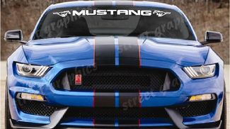 Ford Mustang Bold text GT windshield logo text banner vinyl decal sticker 3.5x45