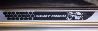 SCAT PACK Challenger Door Sill Decals Dodge Honeycomb 2015 2016 2017 2018 392