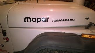 MOPAR PERFORMANCE hood decal JEEP WRANGLER 4X4 Color options