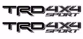 TRD 4X4 Sport Toyota 2016 2017 Tacoma Tundra Truck Pair Decals 2 Decal Vinyl Pre
