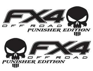 FORD F150 F250 FX4 Punisher Off Road Decal Vinyl Truck Stickers Offroad