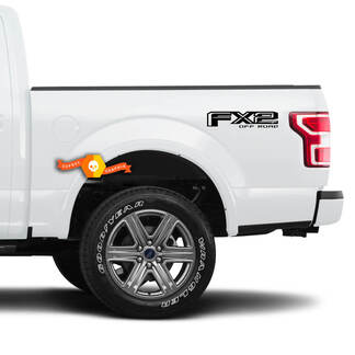 Ford FX2 F150 Off Road 2015 2016 2017 2018 Decals 2 Stickers Vinyl Pre-Cut Truck