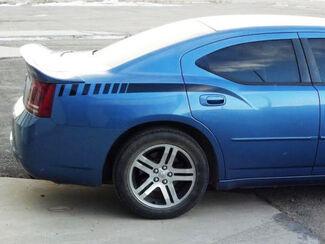 2006 2010 Dodge Charger Rear Quarter Panel Seitenstreifen Aufkleber 06 07 08 09 10