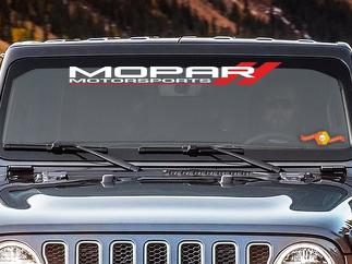 Mopar Motorsport Windshield Vinyl Decal Sticker