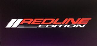 FITS ALL CHEVY REDLINE EDITION OR JDM VEHICLES DECAL FOR HOOD, WINDOWS AND BODY