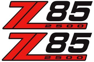NEW 4X4 OFFROAD Z85 2500 DECAL STICKER EXTREME