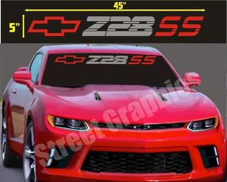 CAMARO Z28 SS WINDSHIELD VINYL DECAL STICKER