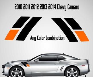 2010 2011 2012 2013 2014 45th Anniversary Chevy Camaro Fender Stripes Decal SS 2