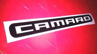 CAMARO 3rd Third Brake Light Overlay Decal Sticker Cover 2014 2015 SS RS ZL1