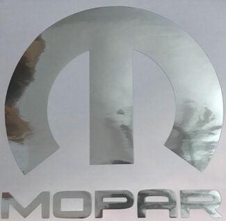 Chrom Dodge Hellcat Körper Aufkleber groß für Motorhaube Windows Challenger Ladegerät Mopar Logo Neu