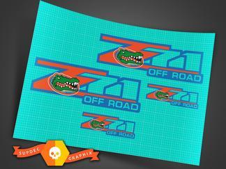 Z71 Aufkleber Kit Florida Gators Premium
