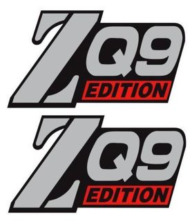 NEW 4X4 OFFROAD ZQ9 DECAL STICKER EXTREME S10 GMC Sonoma