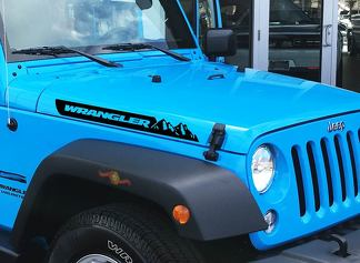 Jeep Renegade Hood Side Hood Mountains Decal Vinyl Graphic JK Fender