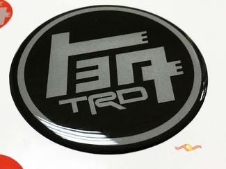 TEQ TRD Toyota Domed Badge Emblem Resin Decal Sticker 4Runner Tacoma FJ Cruiser Tundra