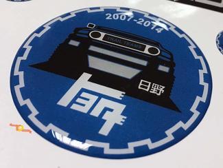 TEQ Toyota FJ Cruiser Kuppel Abzeichen Emblem Harz Aufkleber Aufkleber
