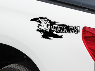 MOLON LABE Spartan Helmet Come and Take Hood Decals Truck Jeep Wrangler JK TJ Tacoma Tundra Ram
