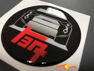 Toyota 4Runner Domed Abzeichen Emblem Resin Aufkleber Aufkleber